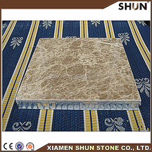 Natural Marble Laminated with Aluminum honeycombe Tiles, Marble composite tiles, marble floor tiles