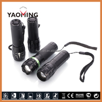 scopes & accessories bicycle led light flashlight torch outdoor sports