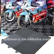 garage interlocking PVC flooring tile, mat