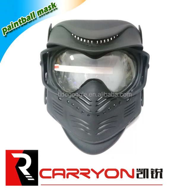 OEM Hot sale mask goggles military safety airsoft mask,paintball mask