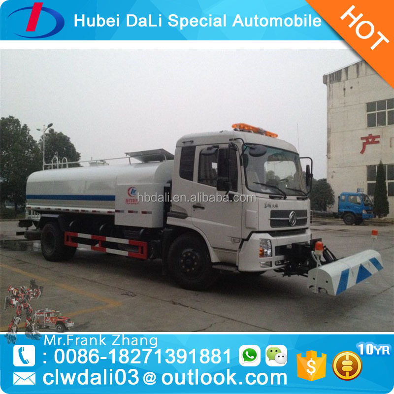 12000l 4x2 left hand drive high pressure washer truck