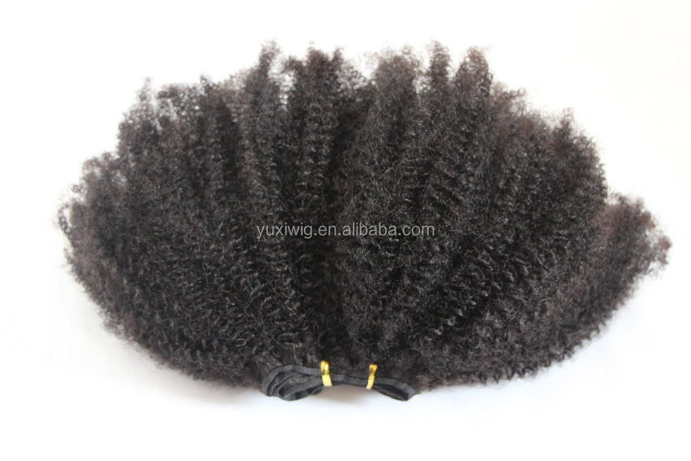 2016 Tight Afro Kinky Curly Virgin Human Hair extensions
