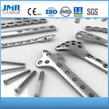 orthopaedic self tapping locking screws implants for surgical operations hot sales titanium plates and screws