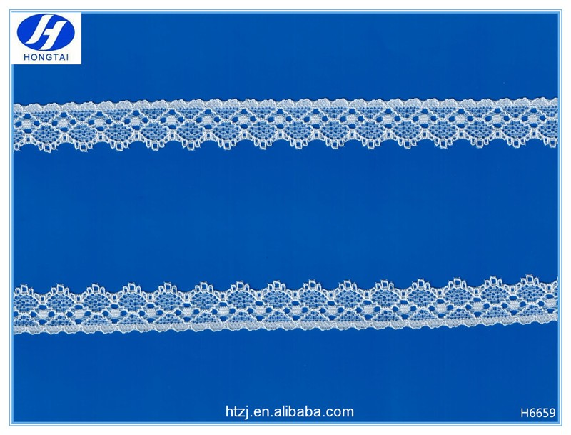 wholesale spandex/elastic lace and border made in China