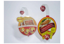 circle dangler hot sell advertising PP/PVC promotional Shelf Wobblers