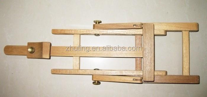 meilleure qualit professionnelle floding en bois mini artiste peinture de chevalet table. Black Bedroom Furniture Sets. Home Design Ideas