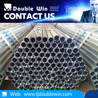 Manufacturer directly supply thin wall galvanized steel pipe manufacturer