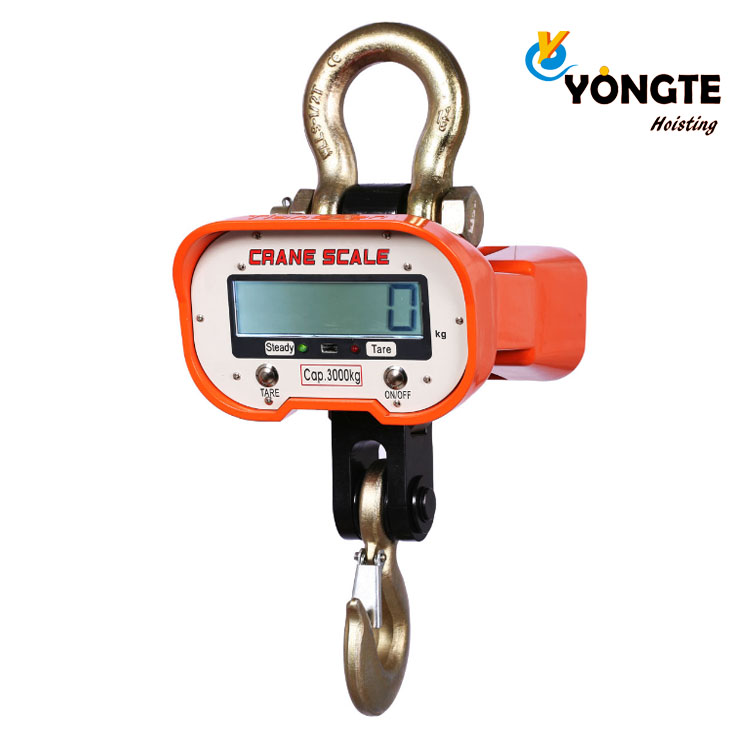 5000kg OCS A3 Electronic Scale With LED Display And Factory Price