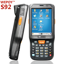 Low Price Win CE Handheld 1d2d barcode scanner wireless pda