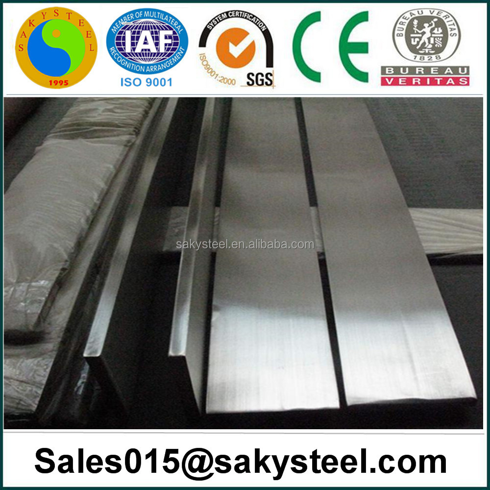 Hot rolled, Cold Drawn, Peeled, Polished Bright, Grinded ASTM A276 304L 1.4306 stainless steel flat bar
