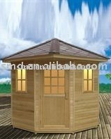 outdoor sauna cabin