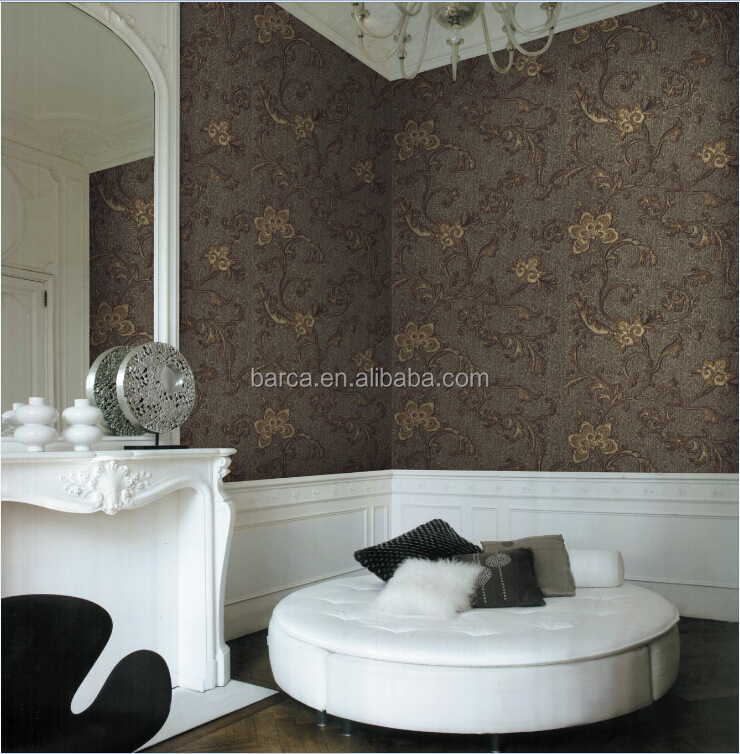 high quality wall paper for new building construction materials