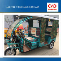 battery operated passenger auto rickshaw electric tricycle