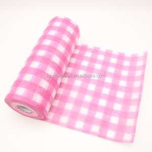 Household multipurpose spunlace nonwoven cleaning wipes High Quality Disposable Perforated antibacterial Cloth Roll