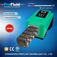 WL600b High Accuracy Dispensing Perisraltic Pump, chemical dosing pump working principle