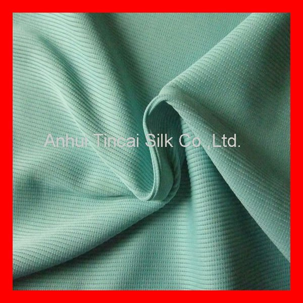 Polyester Spandex Ottoman Fabric