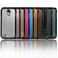 For Samsung Galaxy S4 mini Ultra Slim Brushed Aluminum Phone protective Case