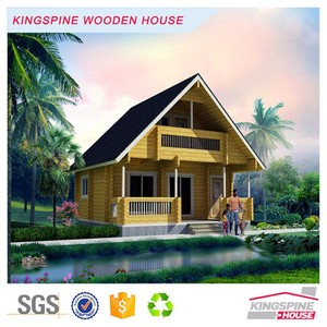 lebanon prefab log house wood cabin made in china factory KPL-015