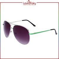 Laura Fairy Creative Designer High Quality Brand Full Frame Metal Sunglass New Sale