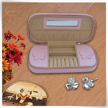 promotional PU Leather cosmetic case for jewelry