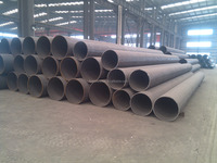 Low alloy cold formed X60/X52 LSAW welded steel pipe/tube china