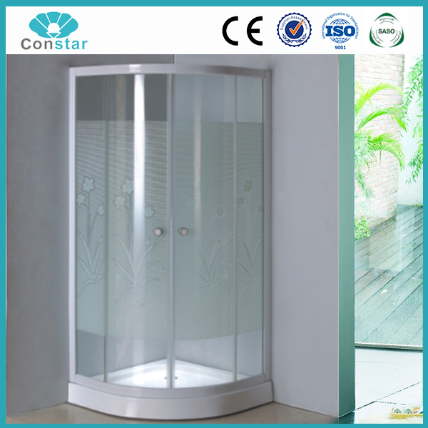 Flower shower screen