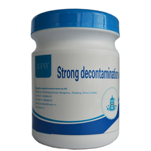 Organic chemicals stain remover decontamination wipes excess dirt