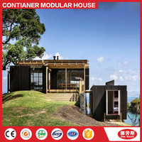 container shop/comfortable modern container villa/prefab house/prefabricated/modular homes
