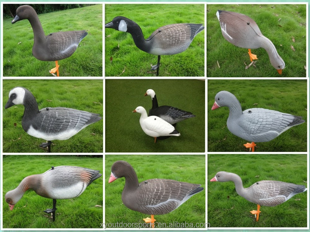 Supply inflatable goose decoys, decoys goose hunting can be inflatable,full body goose decoys