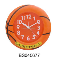 Fashion product basketball alarm clock table clock