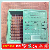 D400 SMC composite manhole cover square chamber covers catch basin