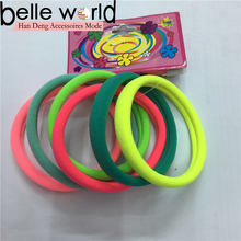 Wholesale resin design decoration elastic hair band for child