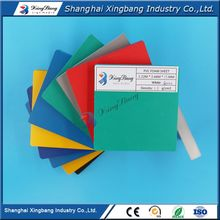 Good chemical stability colored plastic pvc sheet