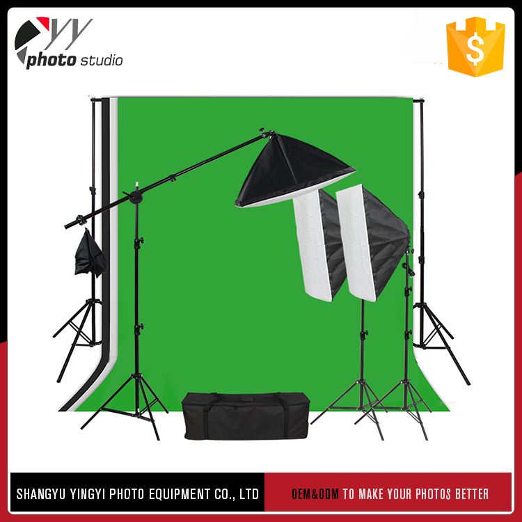 Modern design diversified combination studio light photography equipment