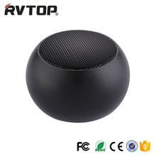 Rvtop portable mini bluetooth speaker compatible with Pod, mobilephone, MP3 & smartphones,usb rechargeable and battery powered