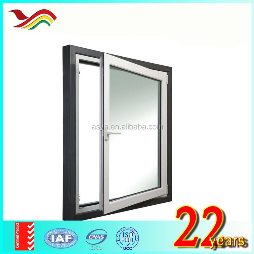 2017 innovative design pvc casement window factory price