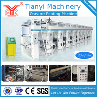 Plastic Film High-Speed Rotogravure Printing Machine