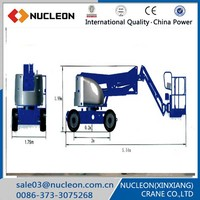 Nucleon motorcycles platform lift