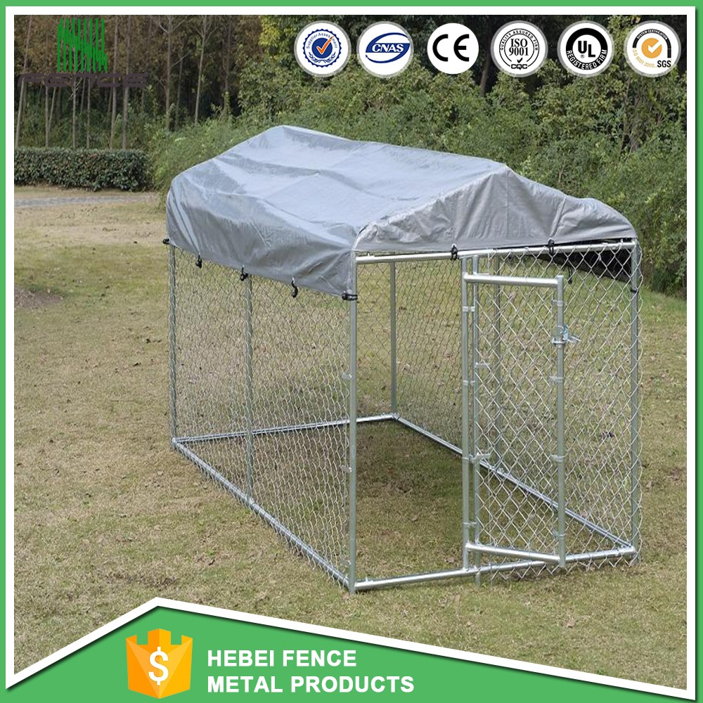 America outdoor dog kennel designs / strong wire mesh dog fence