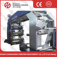 New type six color Flexography Printing press machine
