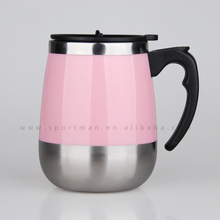 Plastic Personalized Travel Thermal Coffee Mug Car Cup