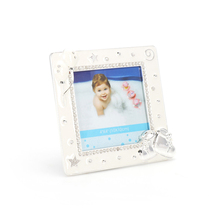 Special moments commemorate baby square stand up picture frame