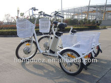 cheap and high quality electric cargo tricycle for adults 250W 36V