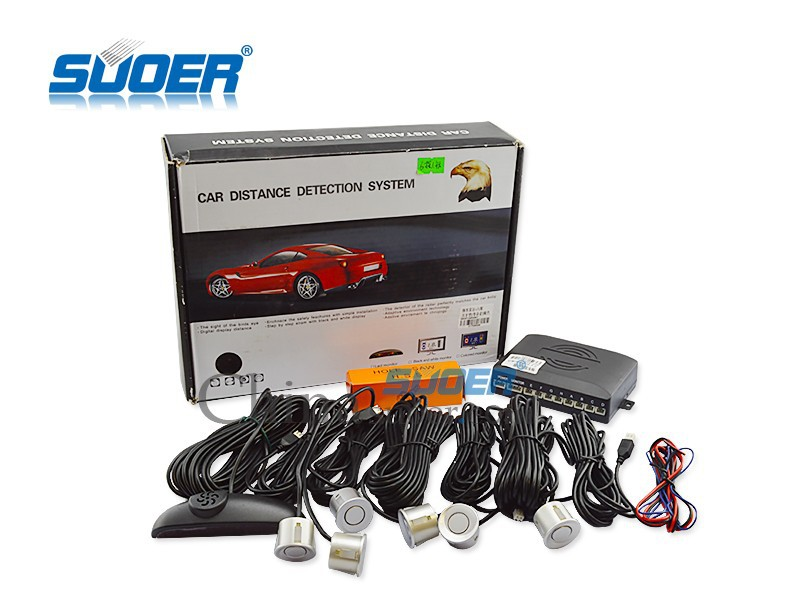 Car distance detection system car parking sensor system radar with voice prompt