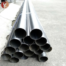 Deep hole drilling tungsten pipe pure W1 tube