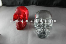 hot sale crystal skull for halloween decoration