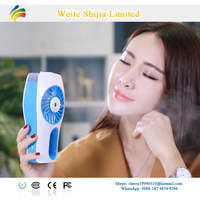 Rechargeable Hand Water Mist Fans