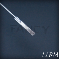 Premium Quality Standard Tattoo Needles - Curved Magnum 11, Wholesale Tattoo Supplies