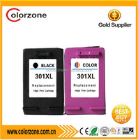 china compatible ink cartridge for hp 301 xl with ISO,CE,ROHS certificate