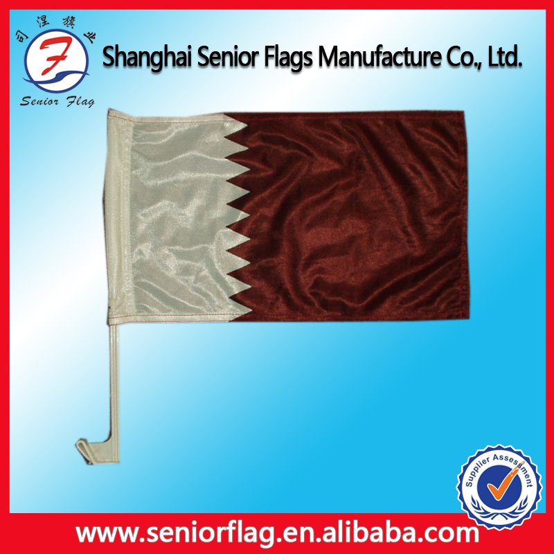 Promotional Custom Country Logo Design OEM Wing Cover Car Mirror Flag advertising flag car flag